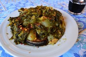 zuppa cavoletti baccala