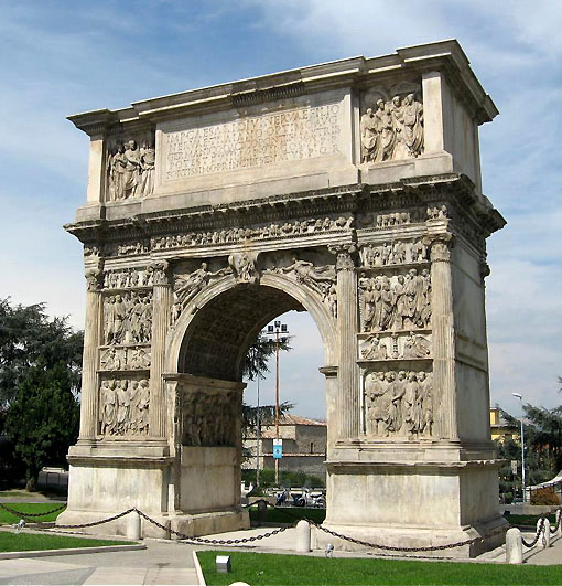 Benevento, arco di Traiano